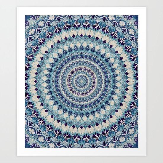 Mandala 587 Art Print