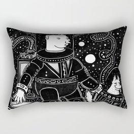 nostalgia espacial Rectangular Pillow