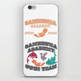 Samezuka - Otter iPhone Skin