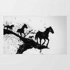 Liquid horses Rug