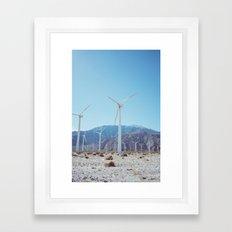 Palm Springs Windmills IV Framed Art Print