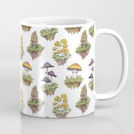 Mushroom Island Pattern Coffee Mug