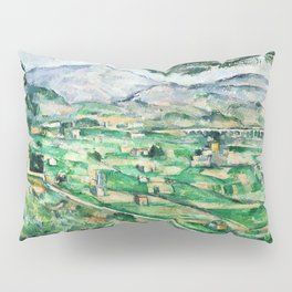 1887 - Paul Cezanne - Mont Sainte-Victoire Pillow Sham