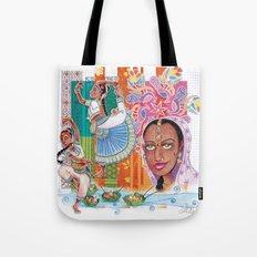 India dancer Tote Bag