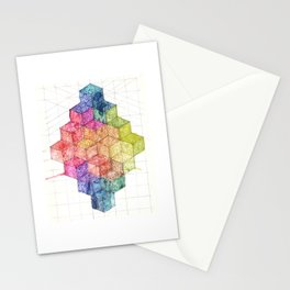 Transitional Rainbow Stationery Cards