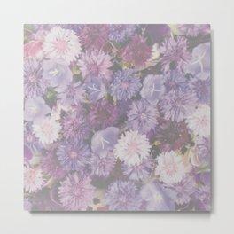 Faded Floral Metal Print