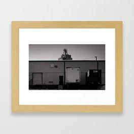 west bottom #3 Framed Art Print