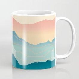 Wanderlust Gradient Mountain Coffee Mug