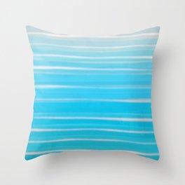 Seashore Colors Throw Pillow
