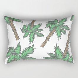 Beach Day Collection - Miami Palms Rectangular Pillow