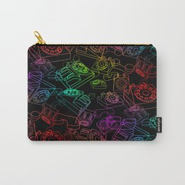 Hanging on the Telephone Carry-All Pouch