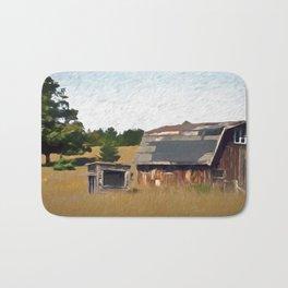 Old Ontario Barn Bath Mat
