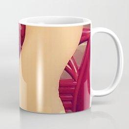 Chace Stuart Feet With Hearts Coffee Mug