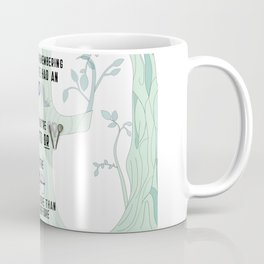 When it's time to leave the Woods (aka The Baker's Wife and Cinderella) Coffee Mug