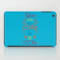 the cure iPad Cases featuring The Cure by Rendra Sy