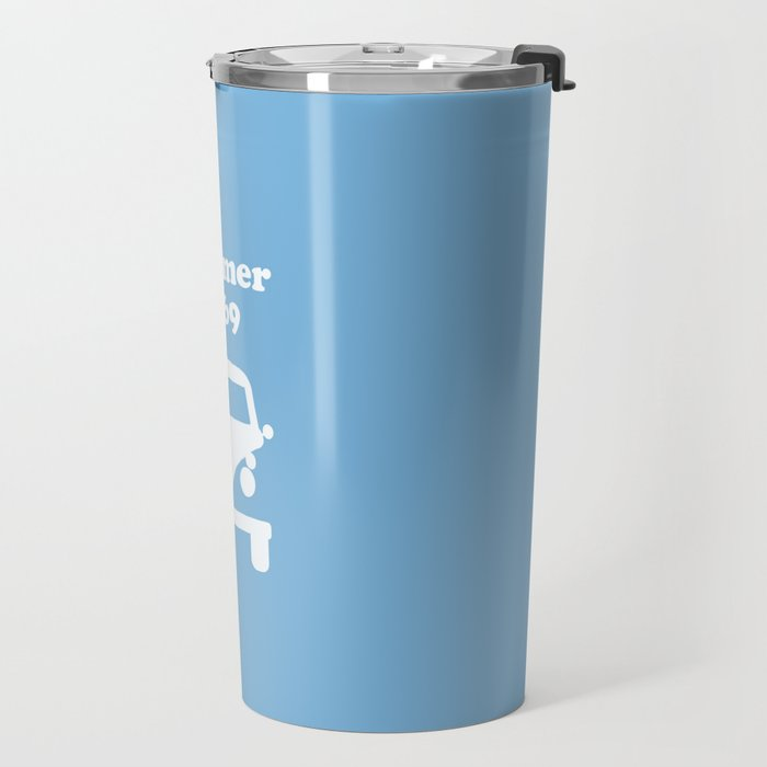 Summer 1969 -  lt. blue Travel Mug
