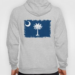 Flag of South Carolina - High Quality image Hoody