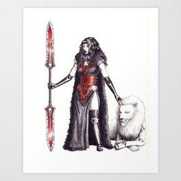 second villain Art Print