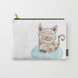 C is for Cat, children alphabet for kids room and nursery Carry-All Pouch