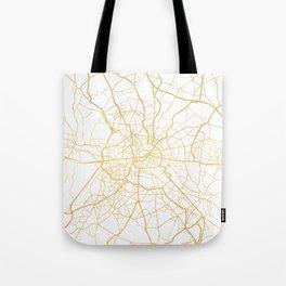 BERLIN GERMANY CITY STREET MAP ART Tote Bag