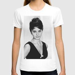 Sophia Loren Celebrity Silk Poster Frameless T-shirt