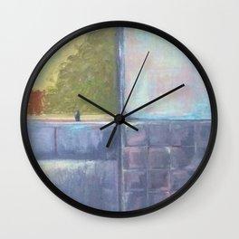 Morning Shower Wall Clock