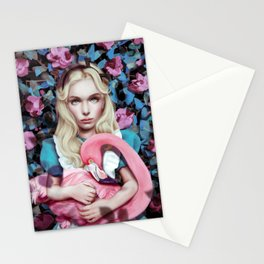 """""""Alice in Wonderland"""" by Giulio Rossi Stationery Cards"""