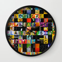 RELENTLESS 01 Wall Clock