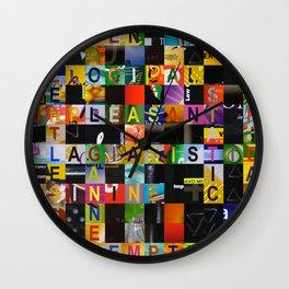 RELENTLESS 01 Wall Clock