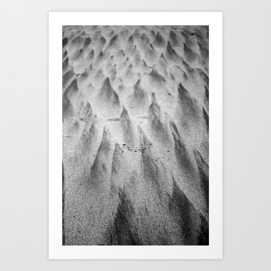 Shapes in the Sand II Art Print