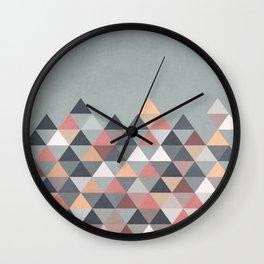 Nordic Combination IV Wall Clock