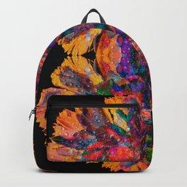 Rainbow Flowers Backpack