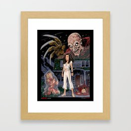 Nancy and Freddy Framed Art Print