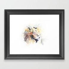 Panthera Leo Framed Art Print