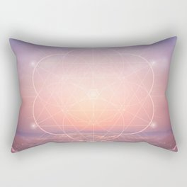The Sun is but a Morning Star Rectangular Pillow