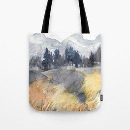 Fairmont Mountain Tote Bag