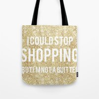 shopping Tote Bags featuring Shopping by LuxuryLivingNYC