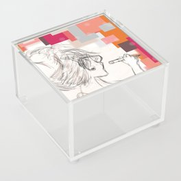 The Art Before the Storm Acrylic Box
