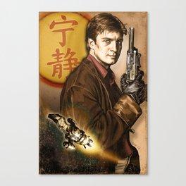 Captain Mal Reynolds Canvas Print