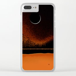 March New Moon Clear iPhone Case