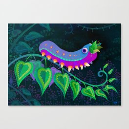 Eat Too much Canvas Print