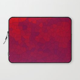 Mosaic Red Red Wine Laptop Sleeve