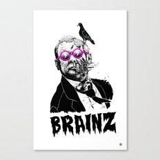 political zombie theme Canvas Print