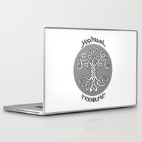 vikings Laptop & iPad Skins featuring Yggdrasil, Vikings by ZsaMo Design
