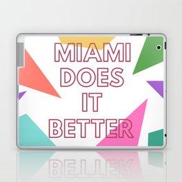 Miami Does it Better - 90s Geometric Design Laptop & iPad Skin