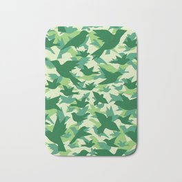 Bird Camouflage 10 Bath Mat