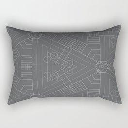 GeoSpace Rectangular Pillow
