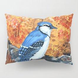 Blue Jay Life Pillow Sham
