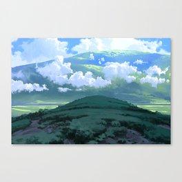 Fields of Calm Canvas Print