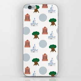 Iconic Theme Parks iPhone Skin